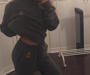 comfy, grey, and girl image