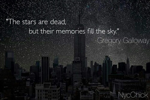 quotes, sky, and stars image