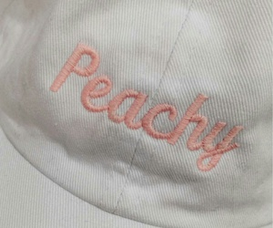 peachy, aesthetic, and peach image