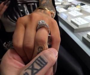 marriage, wedding, and wedding ring image