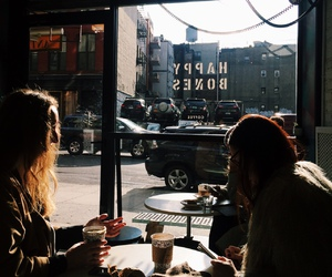 coffee, cafe, and city image