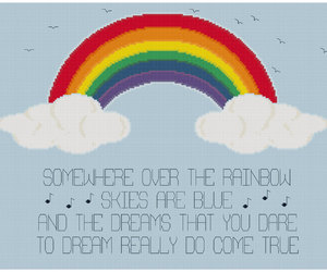 etsy, Wizard of oz, and over the rainbow image
