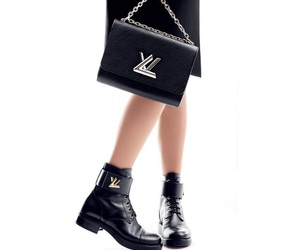 black, Louis Vuitton, and sofisticated image