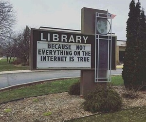 library, book, and internet image