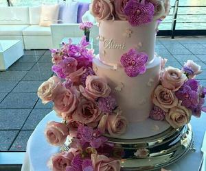 amazing, cake, and flowers image