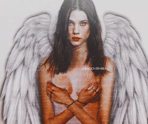 angel, boho, and girl image