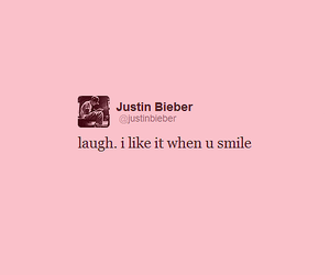 justin bieber, laugh, and smile image