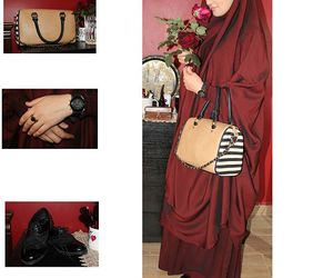 arab, bag, and beauty image