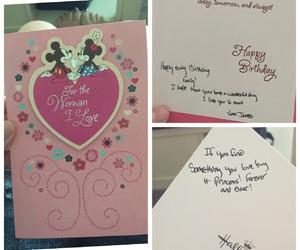 birthday, boyfriend, and card image