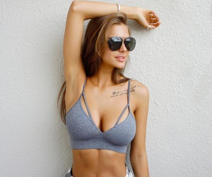 body, bra, and style image