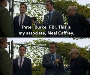 white collar, neal caffrey, and mozzie image