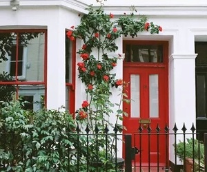 house, red, and tumblr image