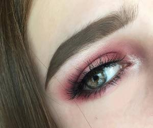 pink, beauty, and make up image