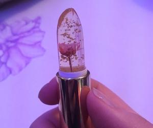 beauty, lipstick, and makeup image
