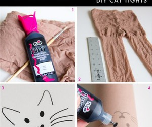 cat, tattoo, and dıy image