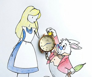 alice and draw image