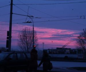 sky, grunge, and pink image
