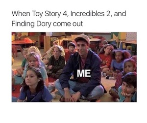 funny, finding dory, and disney image