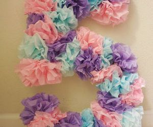 crafts, paper crafts, and paper flowers image