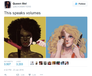 black people, body positive, and racism image