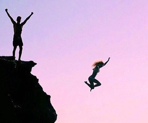 jump, summer, and adventure image