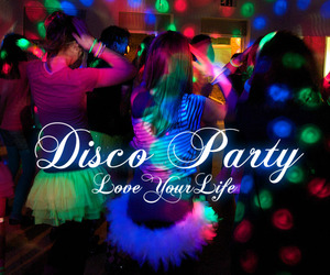 sweet 16 and disco party image