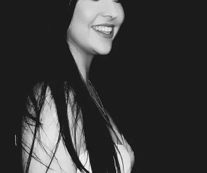 amy lee, belleza, and black and white image