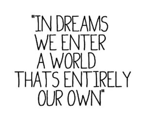 Dream, quote, and world image