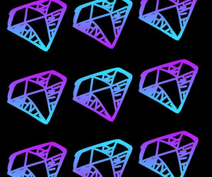 diamonds and wallpaper image