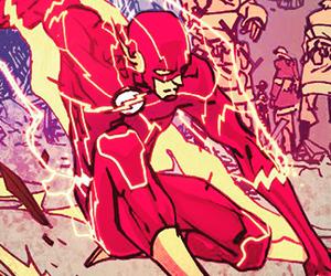flash, dc comics, and barry alllen image