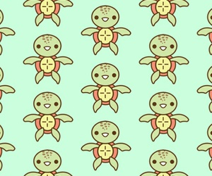 turtle, pattern, and wallpaper image