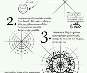 doodle and mandala image