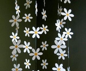 diy, decoration, and flores image