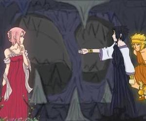 hades, myth, and sasuke uchiha image