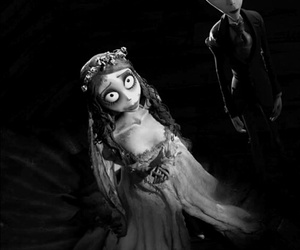 tim burton, emily, and victor image