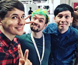 jacksepticeye, amazingphil, and phil lester image