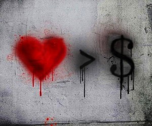 money and love image