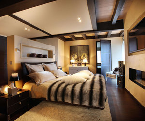 luxury, home, and bed image