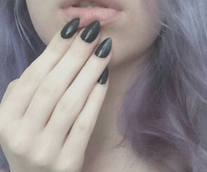 grunge, nails, and tumblr image