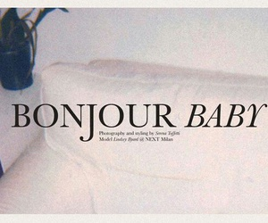 baby, french, and quotes image