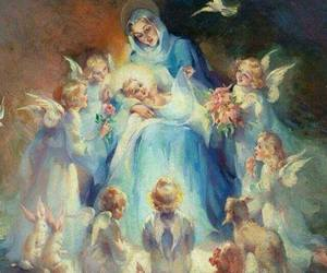 graces, lilly, and rosary image
