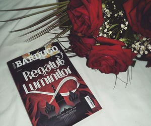 book, reading, and red image