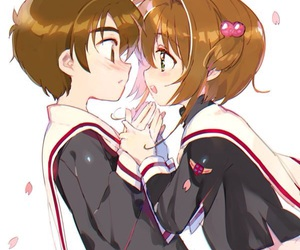 anime, sakura kinomoto, and cute image