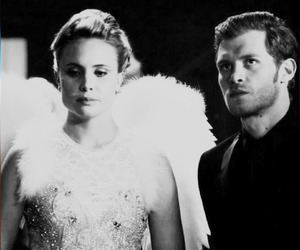 black and white, otp, and The Originals image