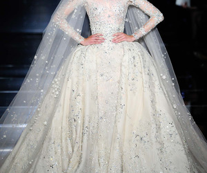 dress, wedding, and Zuhair Murad image