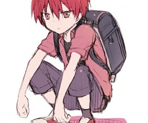 karma, assassination classroom, and karma akabane image