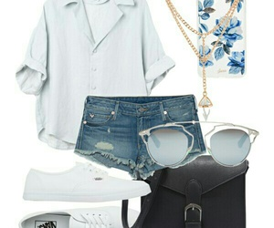 glass, outfit, and Polyvore image