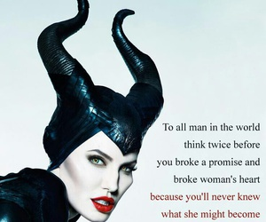 maleficent, disney, and heart image