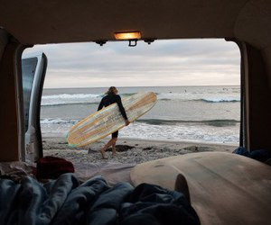 surf, beach, and ocean image