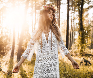 midsummer, outfit, and sweden image